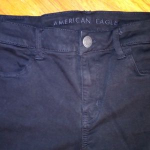 American Eagle Outfitters black skinny jeans sz 12
